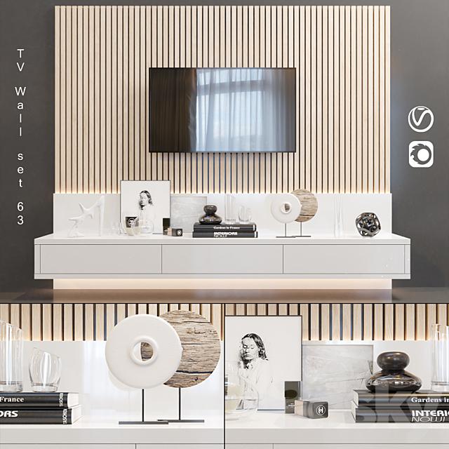 TV Wall   set 63