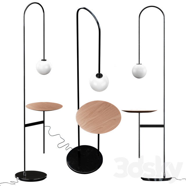 LIGHT WITH A TABLE By Living Divani