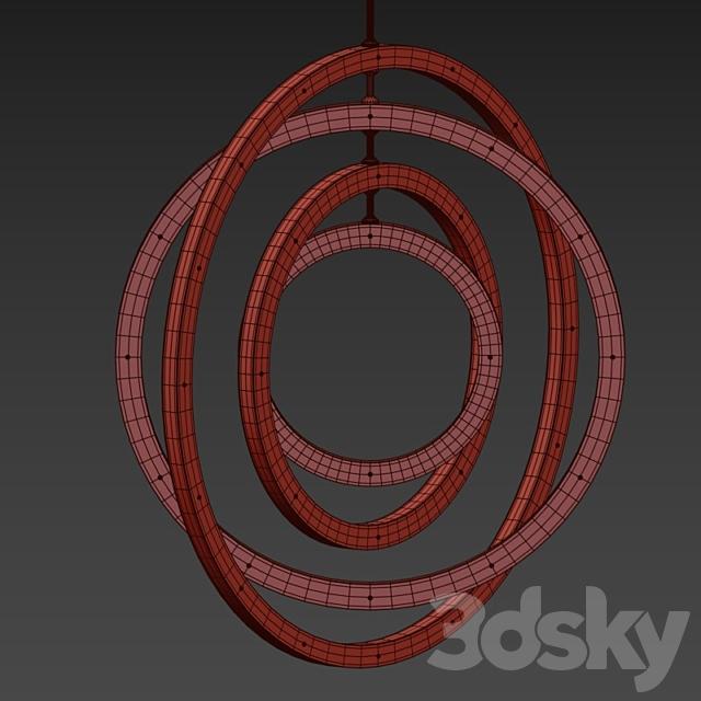 Halo Vertical Suspension Lamp