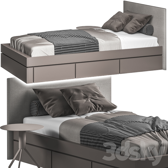 Bed032-Single Bed
