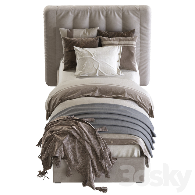 Bed RH Modena Bed
