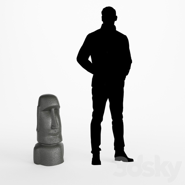 Easter Island Figurine - MOAI