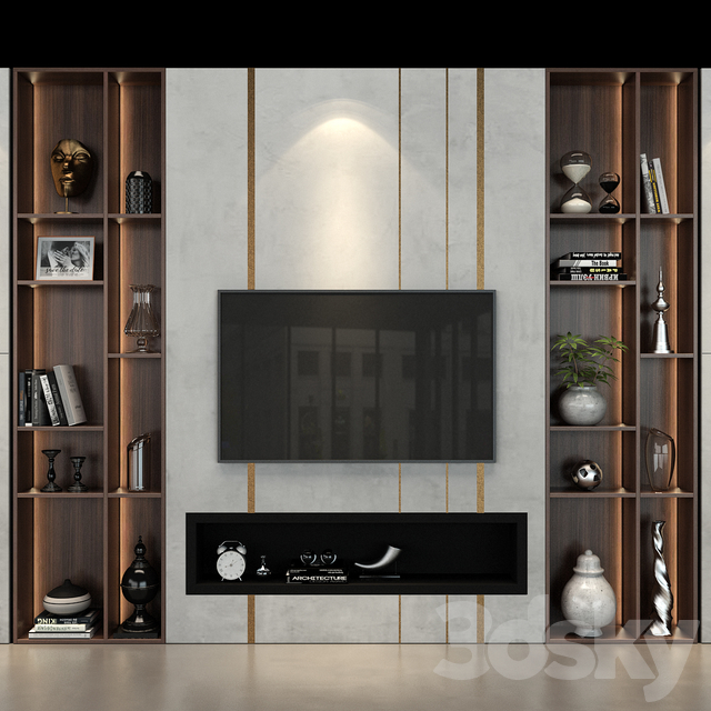 TV Wall set 48