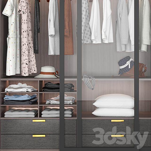 Wardrobe in the Bedroom