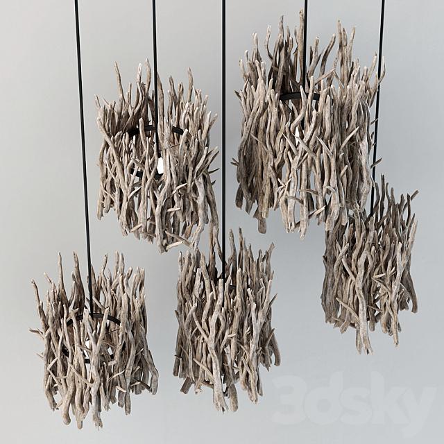 Branch decor lamp n3 / Branch lamps