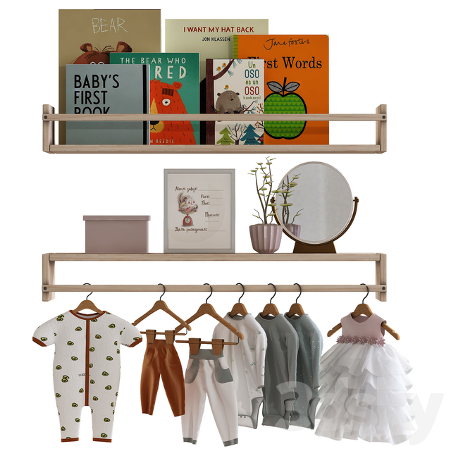 Childrens furniture, clothes and accessories