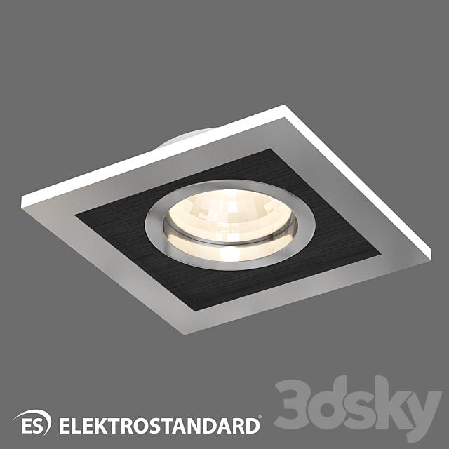OM Spotlight with rotary mechanism Elektrostandard 1031/1 MR16 SL / BK