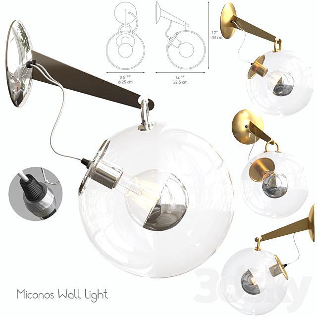 Miconos Wall Light