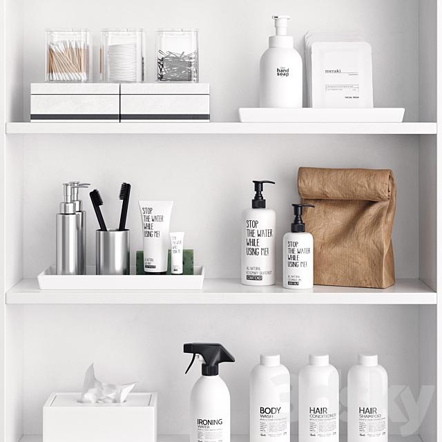 Nordic Bathroom Shelf