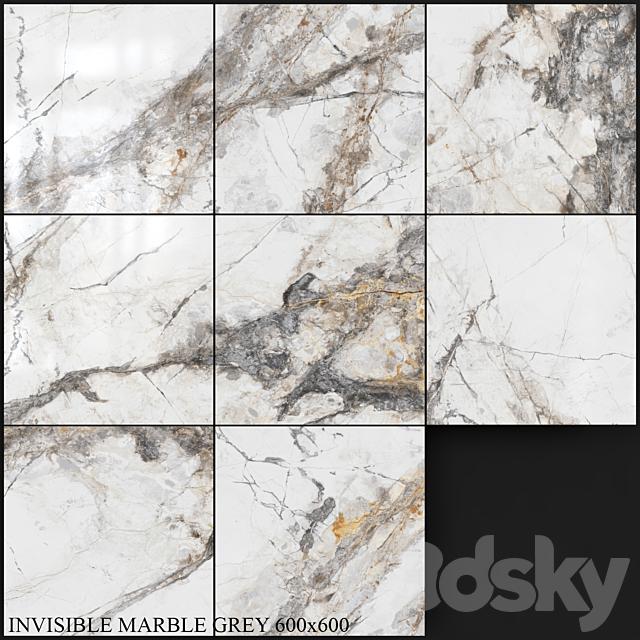 Yurtbay Seramik Invisible Marble Gray 600x600