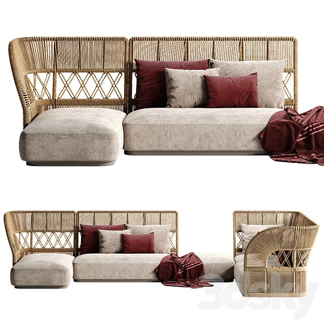 Talenti Cliff Deco sofa 2