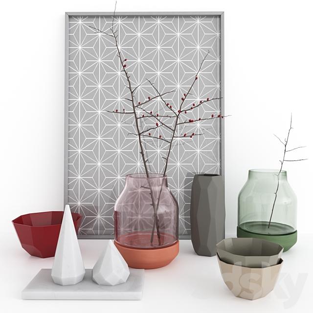 muuto. elevated. shades. vases.