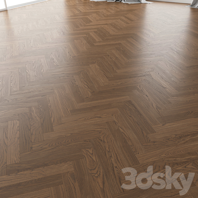 Parquet Oak (Black Walnut Brushed) set 2