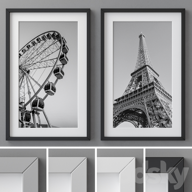 Photo Frames Set 08