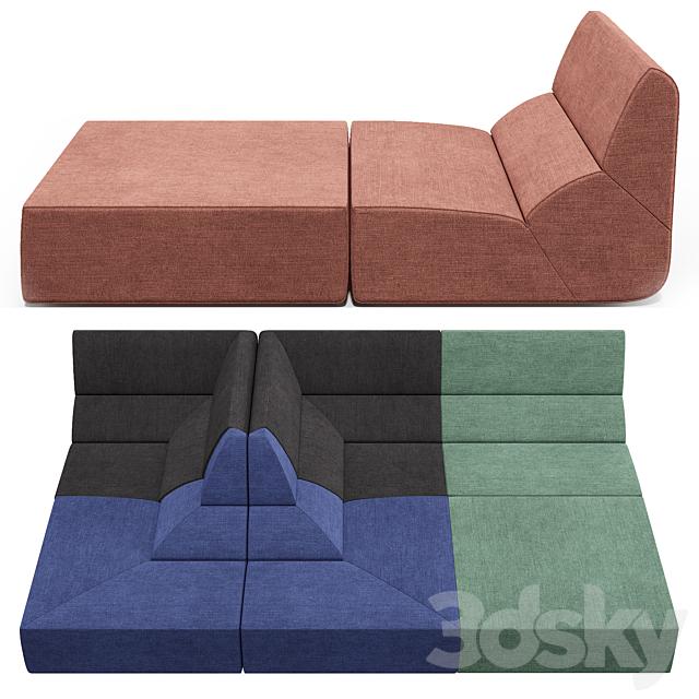 Prostoria layout sofa