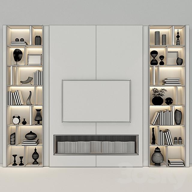 TV Wall set 56