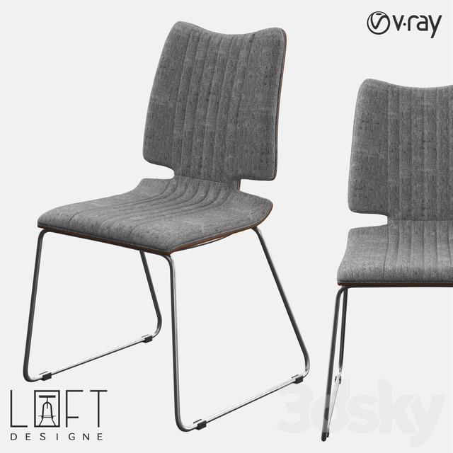 Chair LoftDesigne 2683 model