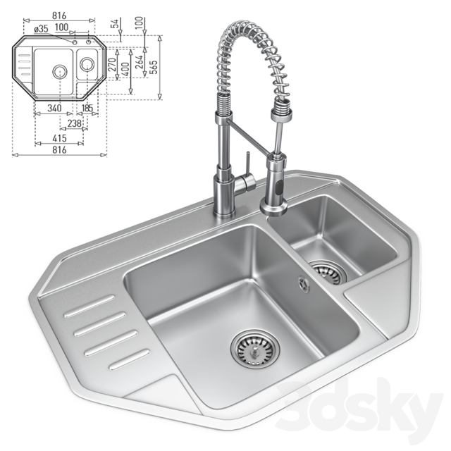 Sink and lux mixer # 12