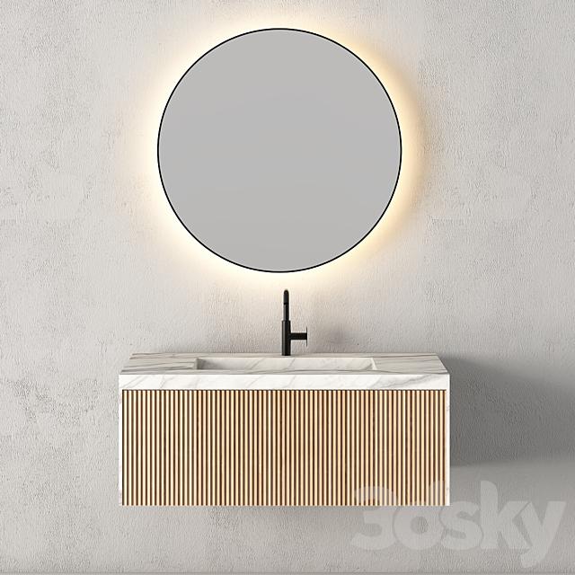 Modern Bathroom Cabinet | No. 076