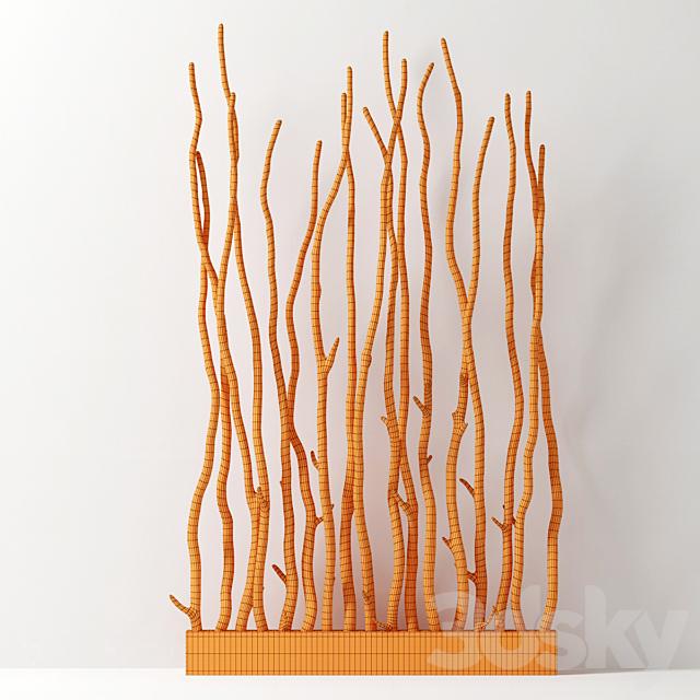 Branch folding screen decoe n1