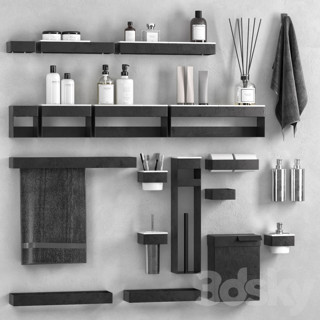 369 bathroom accessories by Agape