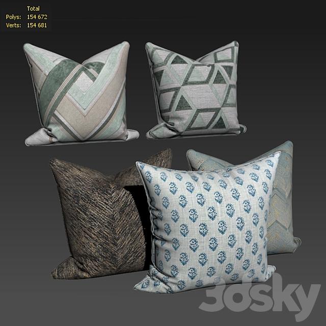 Decorative pillows set 498