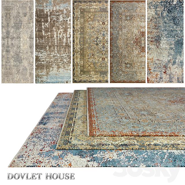 Carpets DOVLET HOUSE 5 pieces (part 506)