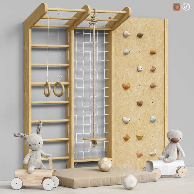 Toys and furniture set 73