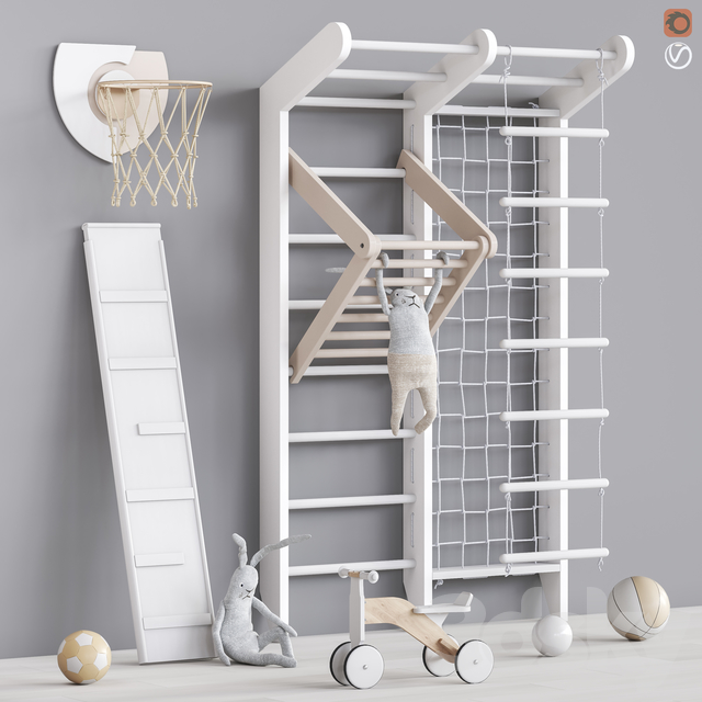 Toys and furniture set 74