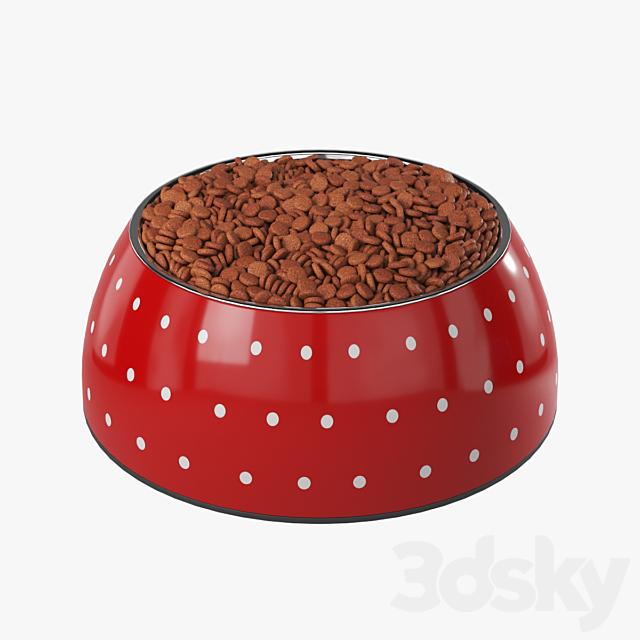 Bowl with food (4 pcs.)