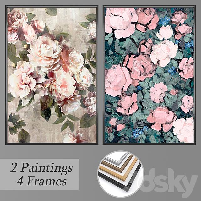 Set of wall paintings No 794