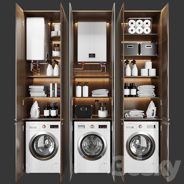 3d Models Bathroom Accessories Laundry Decor 3