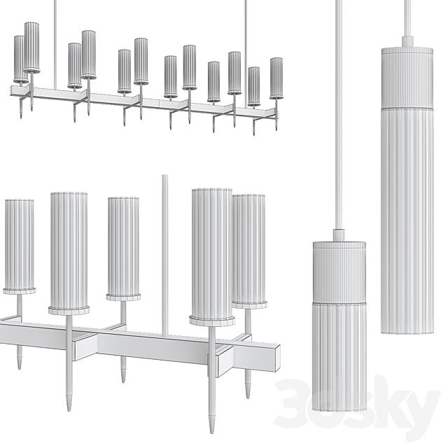 Alouette chandelier