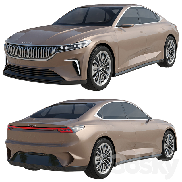 TOGG Sedan Electric Car 2022 model