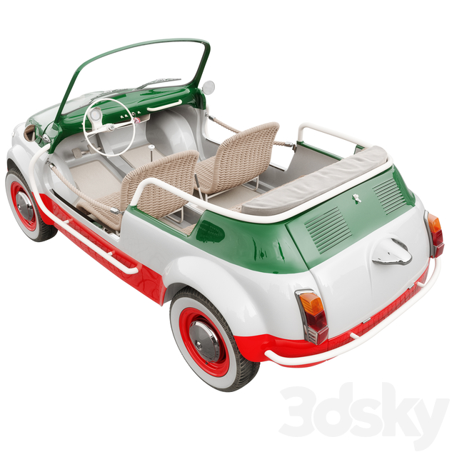 Fiat 500 Jolly Icon-e Tricolore