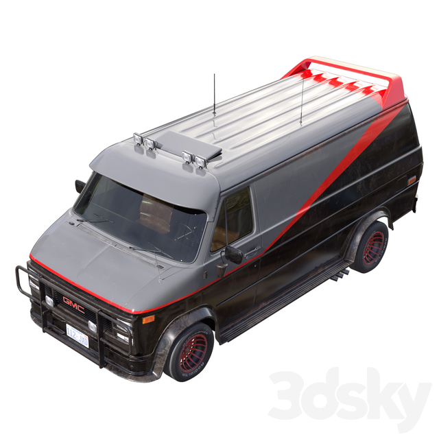GMC Vandura 1983 A-team van