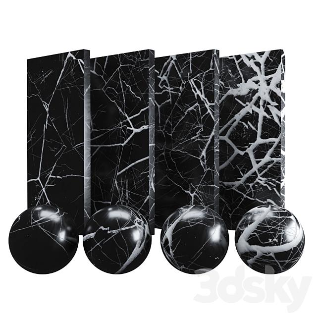 Models Stone Black Marble