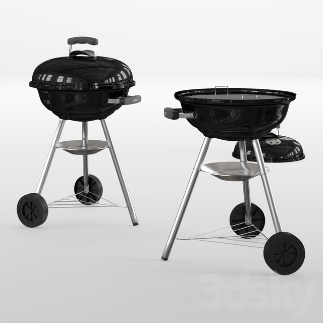 Weber compact kettle
