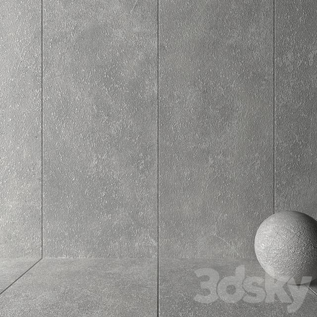Stone Wall Tiles Kibo Gray Set 1