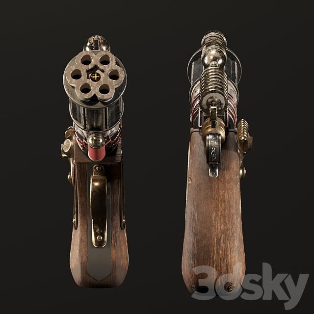Decorative Steampunk Gun