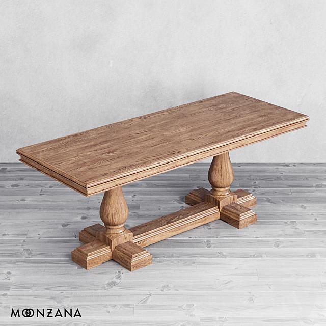 OM Dining Table Replica Moonzana