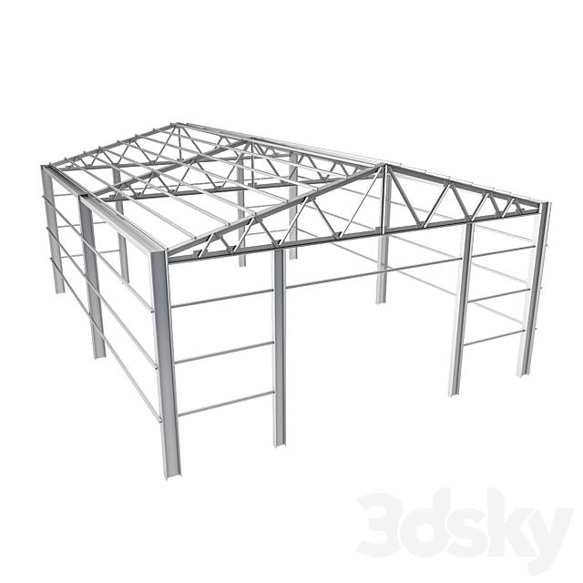 sloped roof-sandwich panel