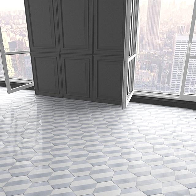 Marrakech Design tile - Claesson Koivisto Rune_hexagon_86