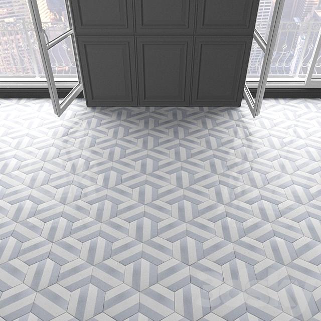 Marrakech Design tile - Claesson Koivisto Rune_hexagon_89