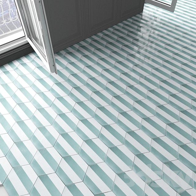 Marrakech Design tile - Claesson Koivisto Rune_hexagon_91