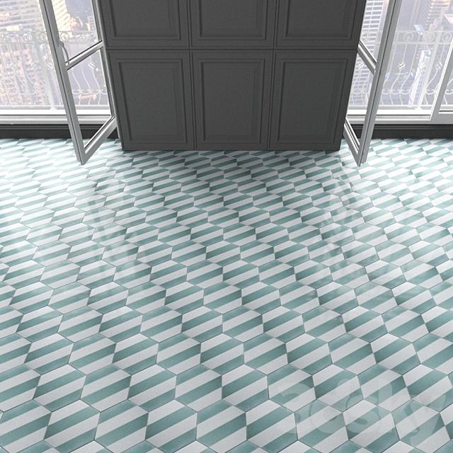 Marrakech Design Tiles - Claesson Koivisto Rune_hexagon_94