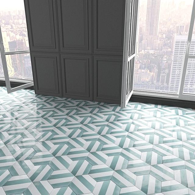 Marrakech Design Tiles - Claesson Koivisto Rune_hexagon_97