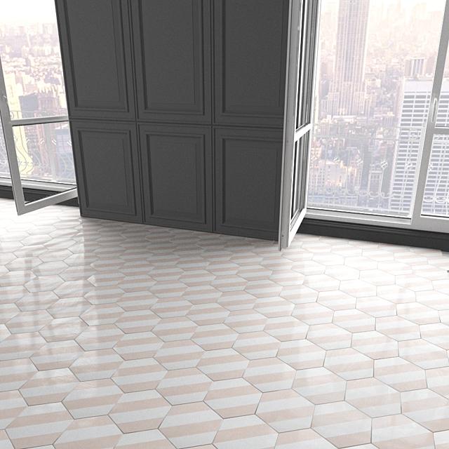 Marrakech Design Tiles - Claesson Koivisto Rune_hexagon_98