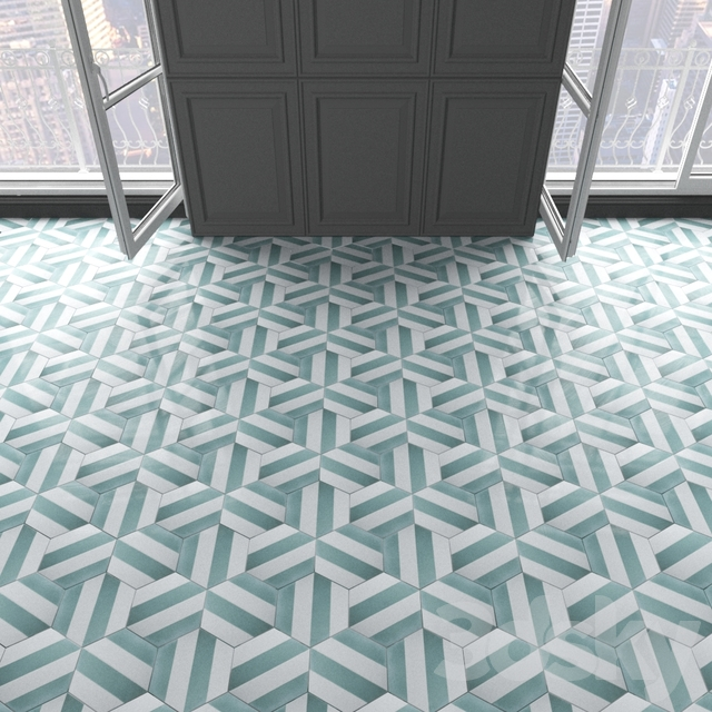 Marrakech Design Tiles - Claesson Koivisto Rune_hexagon_100