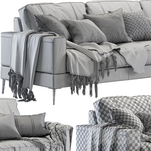 Capri sofa 258 cm